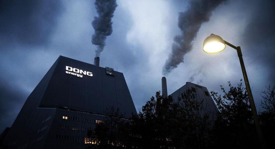 ARKIVFOTO 2012 af DONG Energy Avedøreværk uden for København. (Foto: Jeppe Bjørn Vejlø/Scanpix 2015)