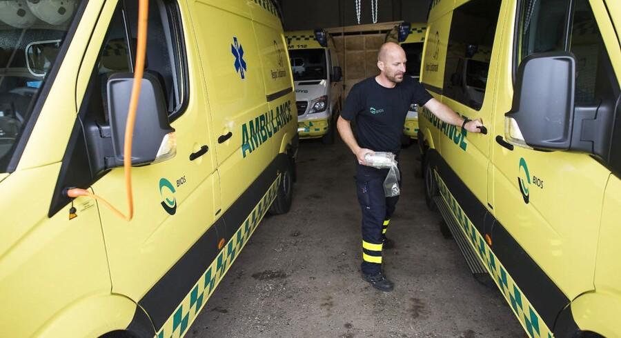 Ambulanceselskabet Bios erklæres konkurs.