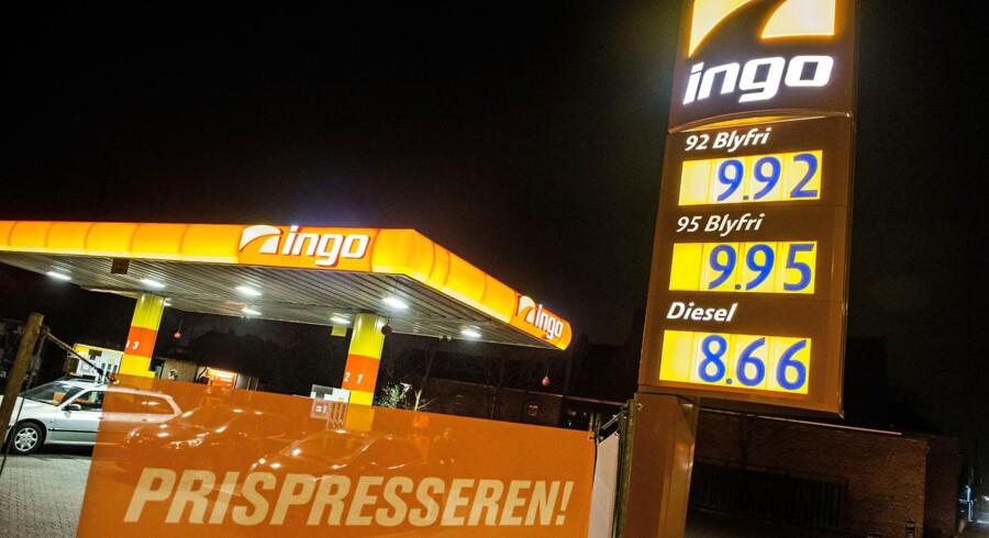 Faldende benzinpriser er med til at forstærke de danske forbrugeres tro på fremtiden. Foto: Christian Liliendahl