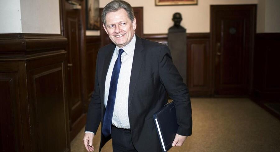Den tidligere konservative partiformand, Lars Barfoed, åbner for muligt comeback i erhvervslivet.