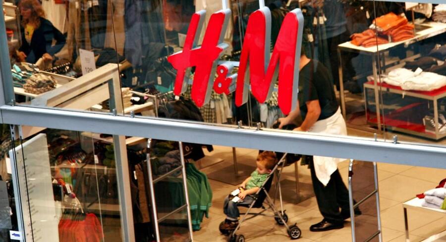 Svenske Hennes & Mauritz fortsætter med at levere flotte salgstal