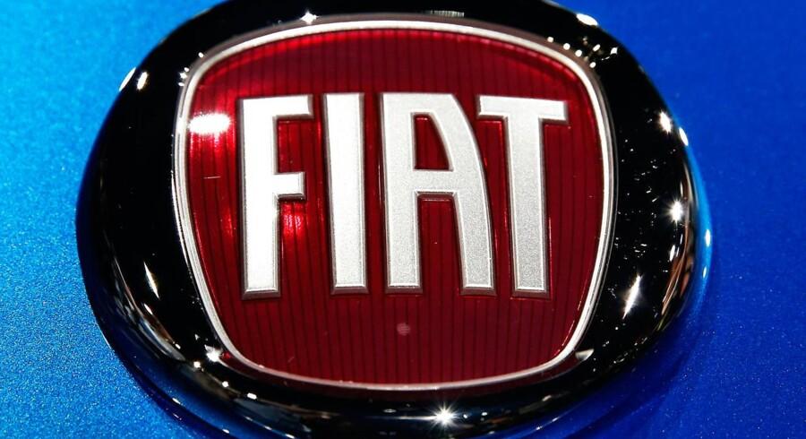 Fiat Chrysler Automobile aktien faldt i dag op til 10 pct.