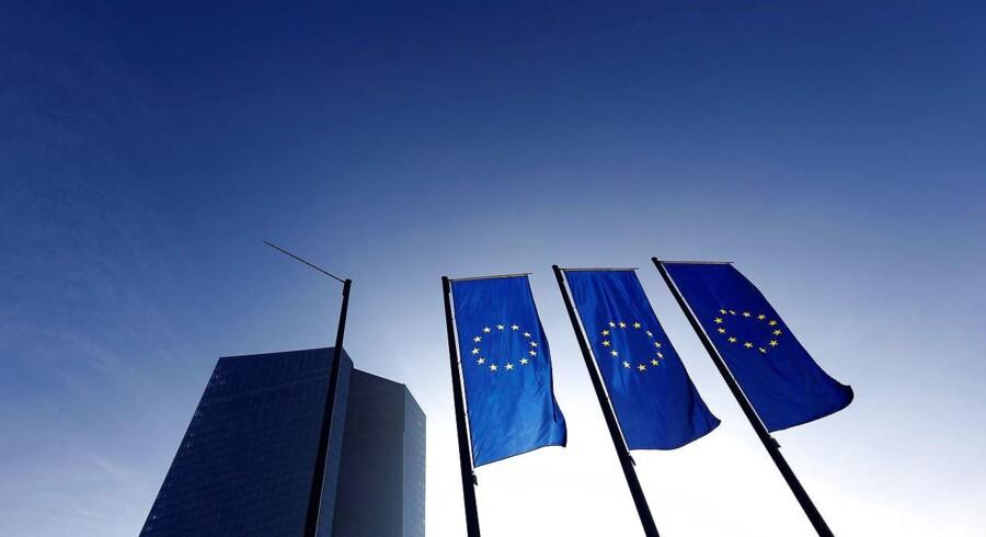 Tysklands forfatningsdomstol bekræfter ifølge Reuters, at den har modtaget en klage mod Den Europæiske Centralbanks monetære politik, som det blev rapporteret af avisen Welt am Sonntag i weekenden. Arkivfoto.