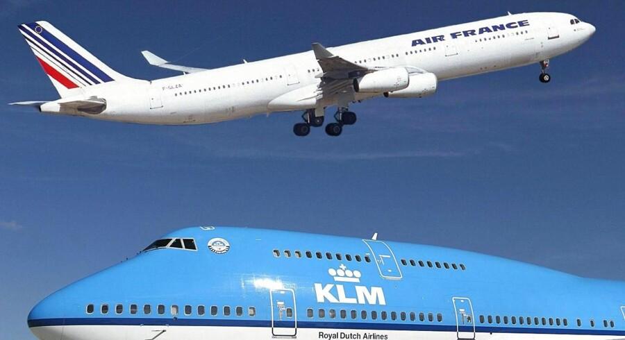 Der er grund til at glæde sig nord for Paris, hvor det gamle og hæderkronede flyselskab Air France-KLM har hovedkvarter. 2015 bød nemlig på et pænt plus, og det er ikke noget, man har været vandt til. Arkivfoto.