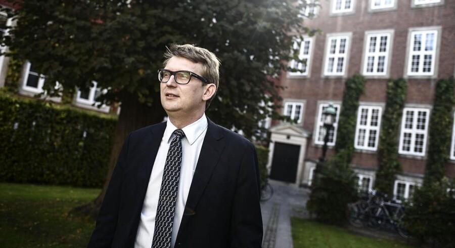 Erhvervs- og vækstminister Troels Lund Poulsen fotograferet ved ministeriet.