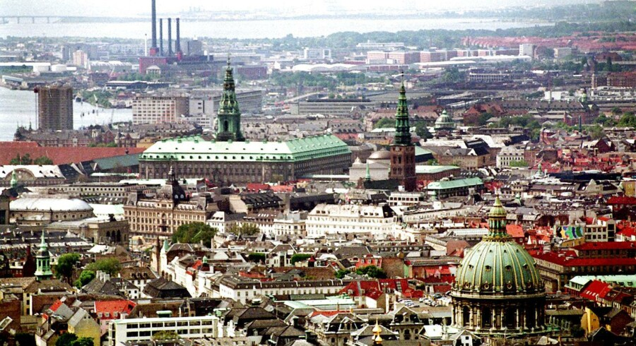 Unge, udlændinge og jyder søger mod København.