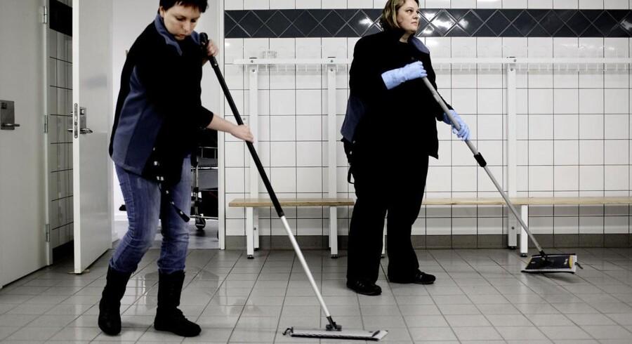 Ordentlige forhold i rengøringsbranchen