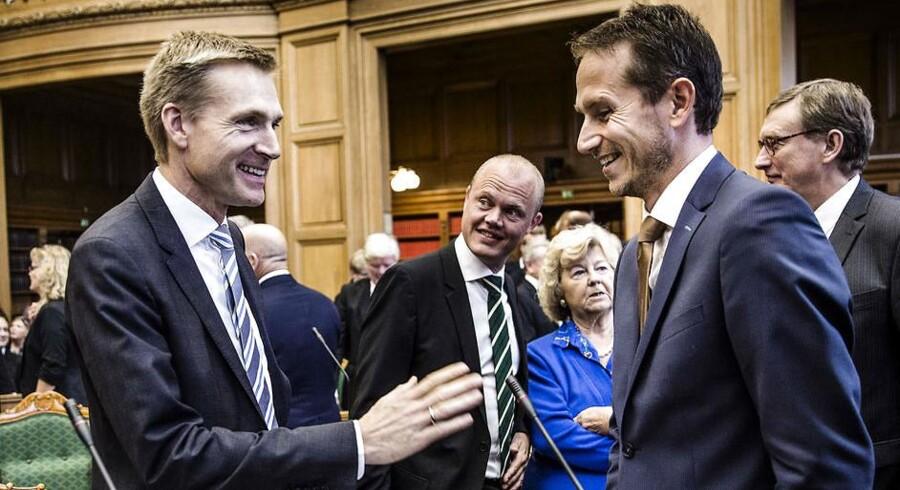Ifølge en Gallup-måling DF-formand Kristian Thulesen Dahl og Venstres næstformand, Kristian Jensen, de to mest troværdige folketingspolitikere.