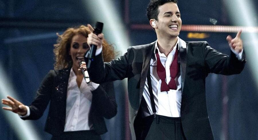 Basim gik hele vejen til Eurovision Song Contest med sin sang »Cliché Love Song«, hvor han fik en 9. plads. Foto: Keld Navntoft