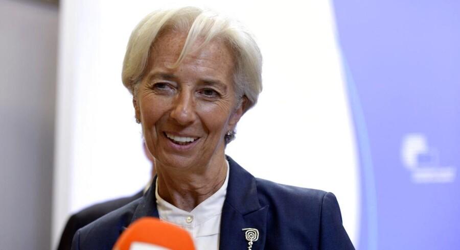 Fredag meddelte den græske finansminister i et brev IMFs direktør, Christine Lagarde, at landet beder om at låne et endnu ukendt beløb.