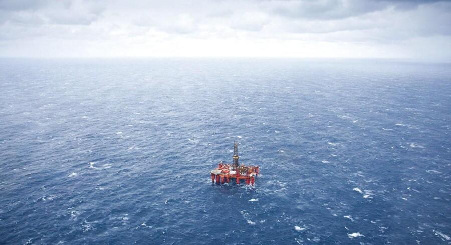 BPs Byford Dolphin boreplatform i Nordsøen.
