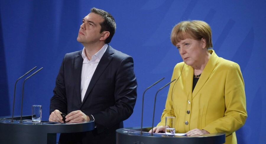 Det er svært at gennemskue, hvad det græske drama skal ende med. Arkivfoto.