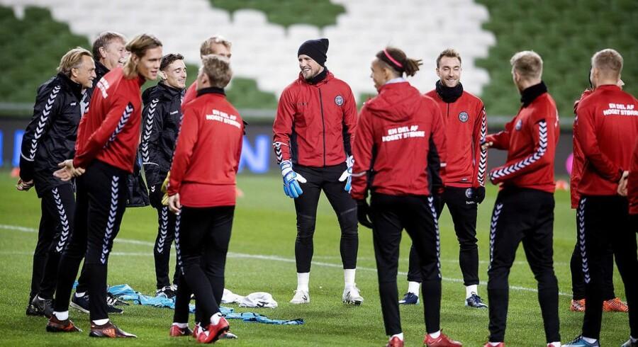 ARKIVFOTO. Det danske herrelandshold skal møde Chile den 27. marts.