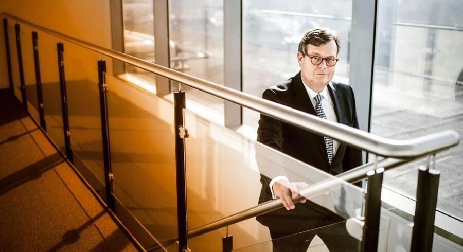 »Vi prioriterer langsigtet vækst over udlodning til aktionærerne,« siger Mærsk-bestyrelsesformand, Michael Pram Rasmussen.