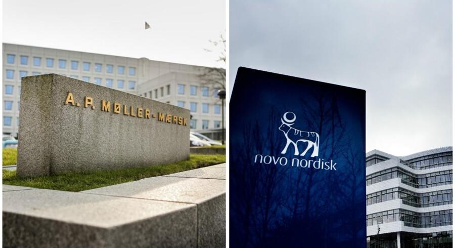 Novo Nordisk holder pressemøde om årsregnskab fredag d.30. januar 2015, hvor Lars Rebien Sørensen, Mads Krogsgaard og Jesper Brandgaard er med.