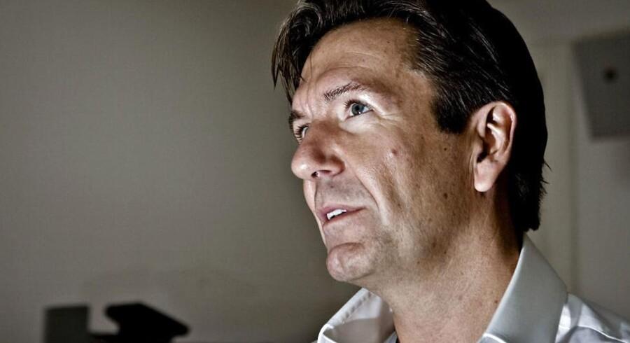 Ex-milliardæren, Erik Damgaard.