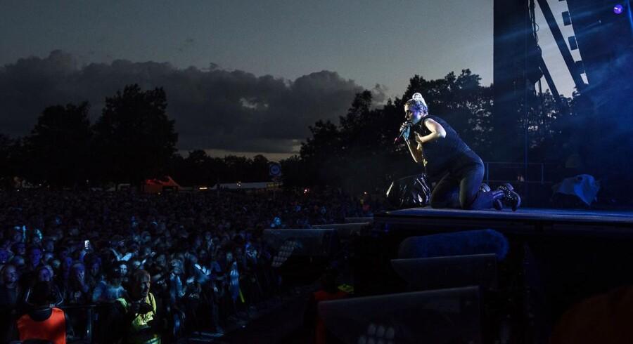 Roskilde Festival 2016. Koncert med Mø på Orange Scene. Lørdag den 2. juli 2016.