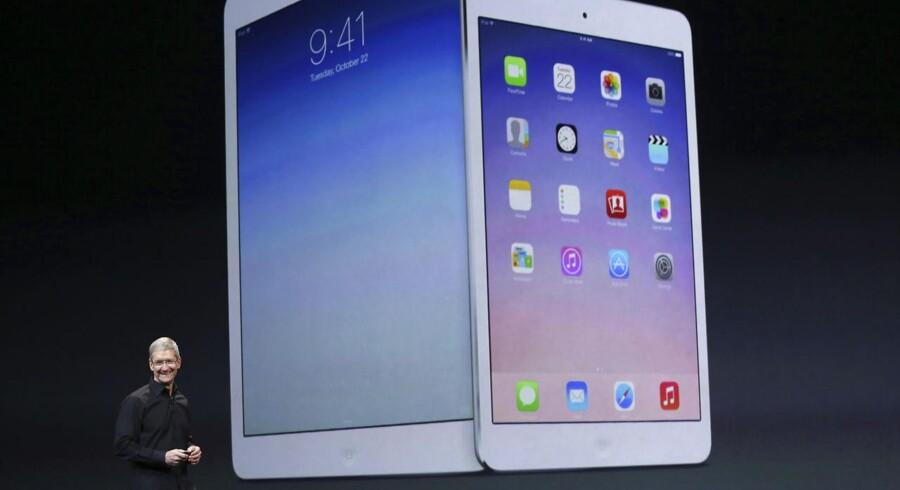 Apple forventes i aften at lancere nye iPads, iMacs og styresystem. Få her overblikket over, hvad Apple har i posen inden aftenens præsentation. Foto: Scanpix