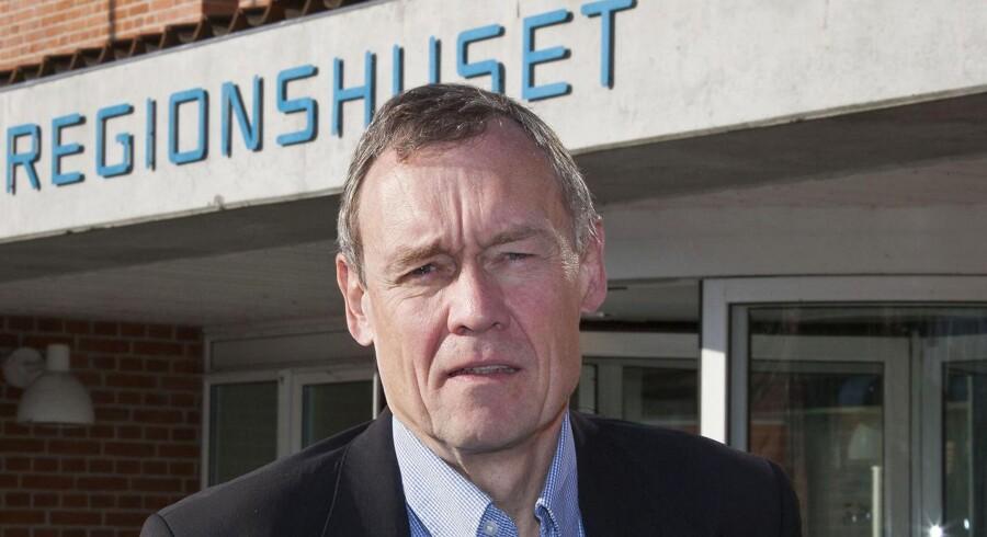 Administrerende direktør Jens Andersen, Region Sjælland, er blevet fritstillet.