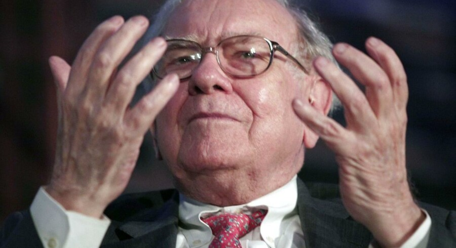 manden bag Berkshire Hathaway-imperiet, den i dag 84-årige Warren Buffett.