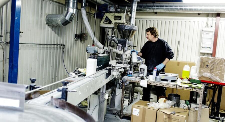 Nordcoll er blandt de virksomheder der udvider kemi og industriproduktionen i Danmark.