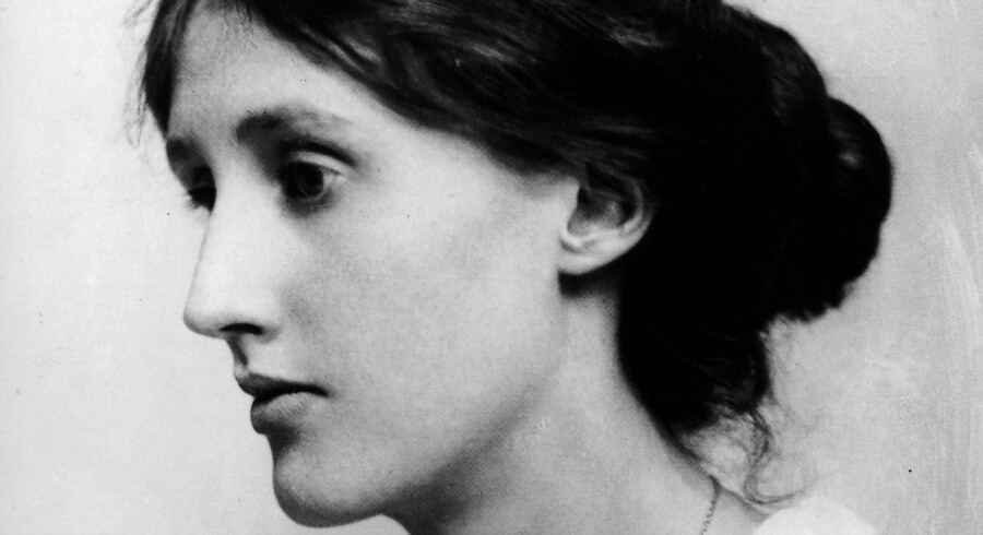 Forfatteren Virginia Woolf. 1882-1941. (Udateret arkivfoto)