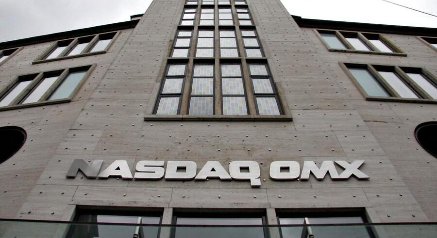 Nasdaq OMX i København. OMX Den Nordiske Børs fungerer som en hovedindgang til de nordiske og baltiske finansielle markeder. Københavns Fondsbørs A/S.