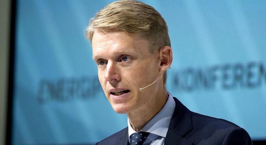 Administrerende direktør Henrik Poulsen. Foto: Keld Navntoft/Scanpix