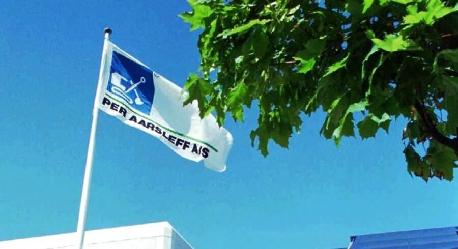 Aarsleff venter kontrakt i Odense på 350 mio. kr. (Foto: Erik Jepsen)