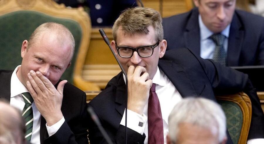 ARKIVFOTO. Radikale Venstre overvejer, om de vil give tidl. skatteminister Troels Lund Poulsen (V) en næse for hans rolle i Skattesagen.