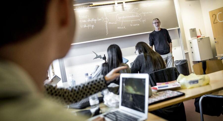 De Konservative vil i gennem et udspil bl.a. gøre eksamen i skriftlig dansk obligatorisk for alle elever, uanset studieretning.