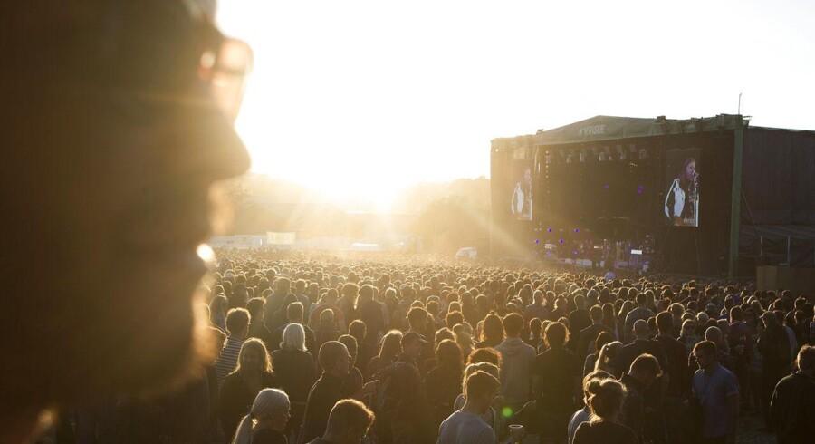 Søndag på Northside Festival 2014 i Aarhus.