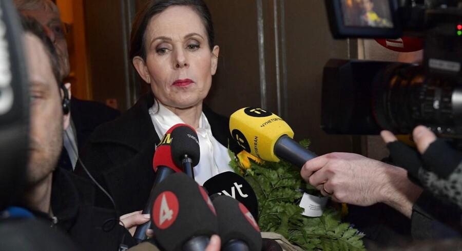 Sara Danius meddelte på et pressemøde i sidste uge, at hun forlader den magtfulde post som sekretær for Det Svenske Akademi.