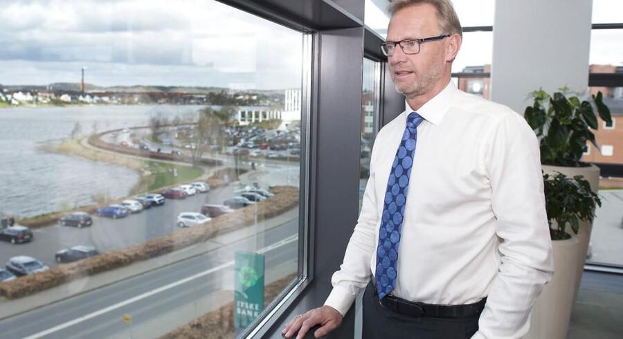 Jyske Banks direktør Anders Dam - Her i hovedsædet i Silkeborg
