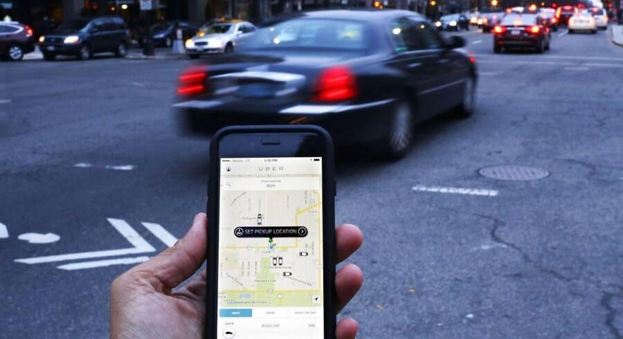 Uber kan se frem til at blive slæbt i retten i Californien for at få afgjort chaufførenes ansættelsesforhold. Foto: Andrew Caballero-Reynolds