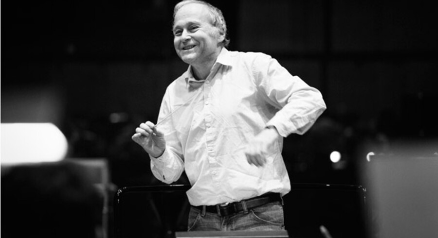 Dirigent Adam Fischer. Pressefoto.