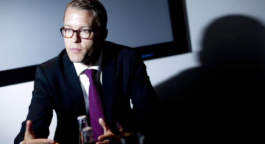Jakob Riis, direktør i Novo Nordisk