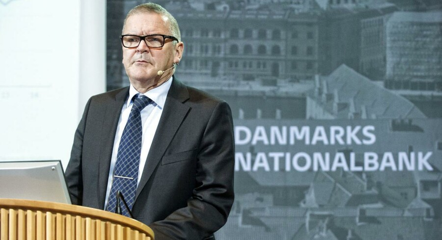 Pressemøde i Danmarks Nationalbank. Nationalbankdirektør, formand for direktionen, Lars Rohde. (Foto: Jens Nørgaard Larsen/Scanpix 2014)