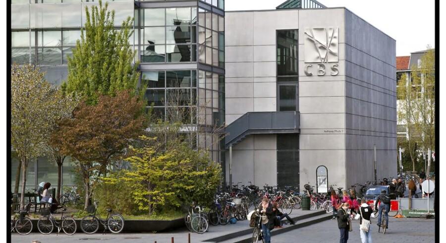CBS Copenhagen Business School på Solbjerg Plads 3, Frederiksberg.