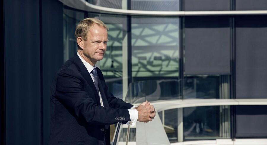 Tidligere kronprins i Novo Nordisk, Kåre Schultz, er ny topchef i Lundbeck. (Foto: Nikolai Linares/Scanpix 2015)