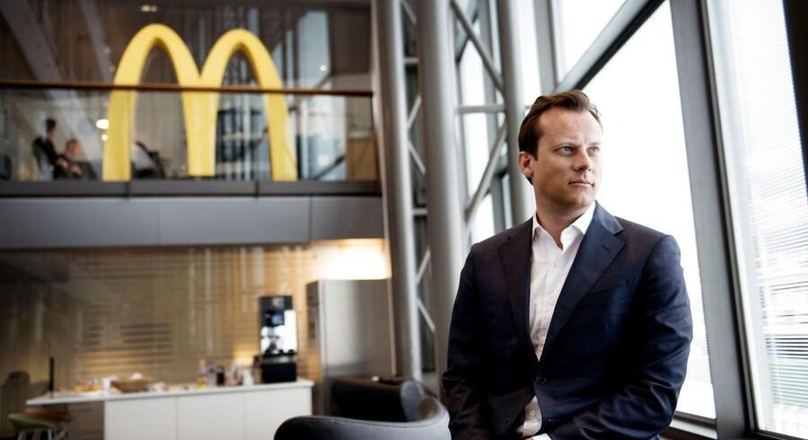 McDonalds direktør i Danmark, Joachim Knudsen.