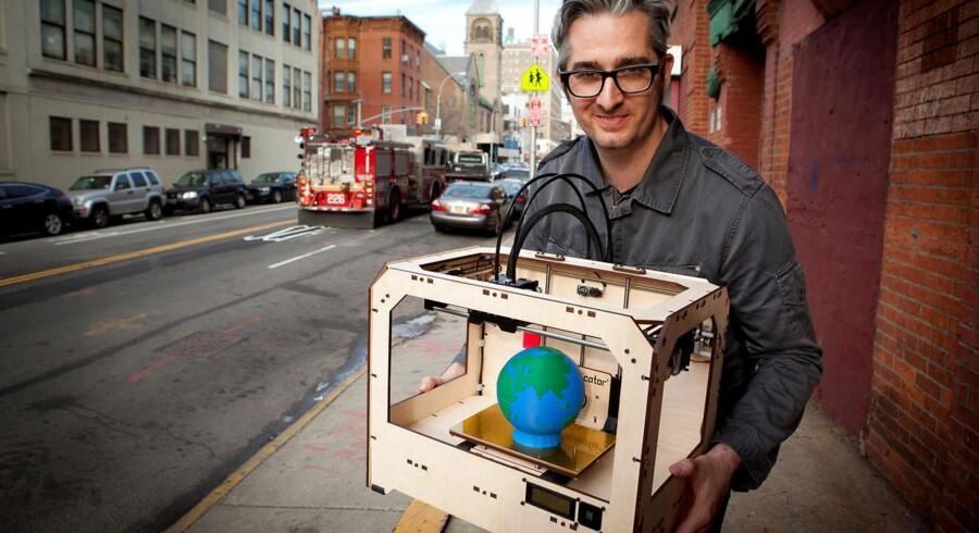 Bre Pettis, CEO på Makerbot Industries LLC