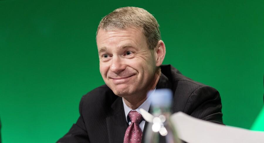 Jørn P. Jensen, som nu forlader posten som finansdirektør i Carlsberg, er en af landets bedst lønnede på sit felt. Foto: Jens Astrup