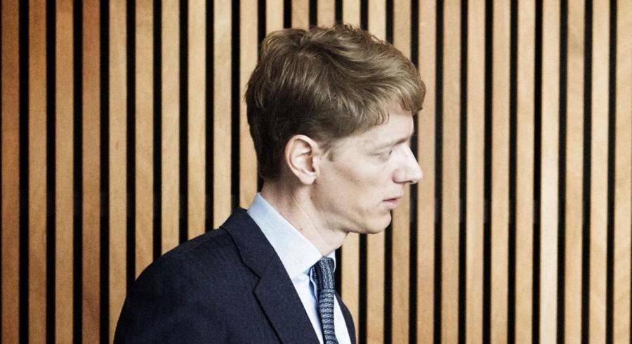 Robert Mærsk Uggla, som er topchef i Svitzer lige nu, bliver sandsynligvis ikke en del af direktionen i det nye firma Ardent, som Svitzer kommer til at hedde efter fusionen.
