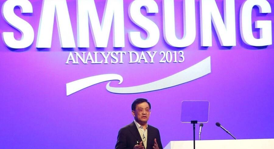 Samsungs direktør Kwon Oh-hyun erkender, at de kan blive bedre til software. I interview med Berlingske forklarer Samsungs europæiske innovationschef, hvordan Samsung tilpasser software og produkter til hele verden. Foto: Samsung
