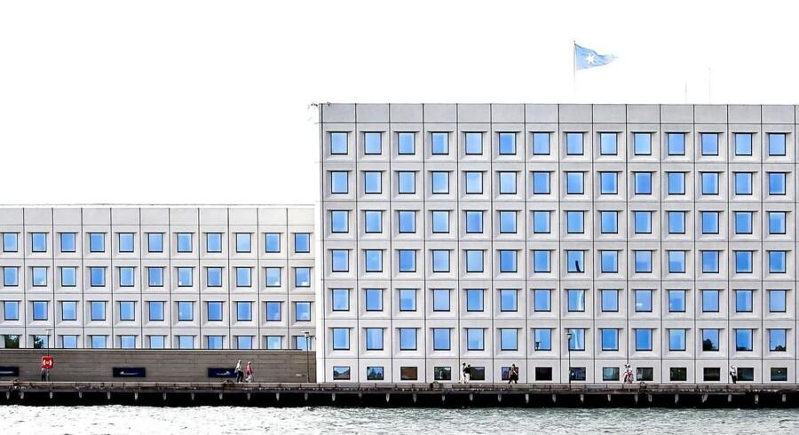 A P Møller Mærsk hovedkvarter på Esplanaden.