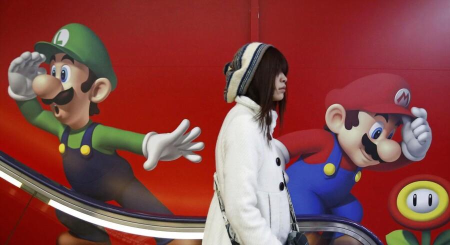 Mario er Nintendos store håb for fremtiden oven på dårlige regnskaber. Arkivfoto: Yuya Shino, Reuters/Scanpix