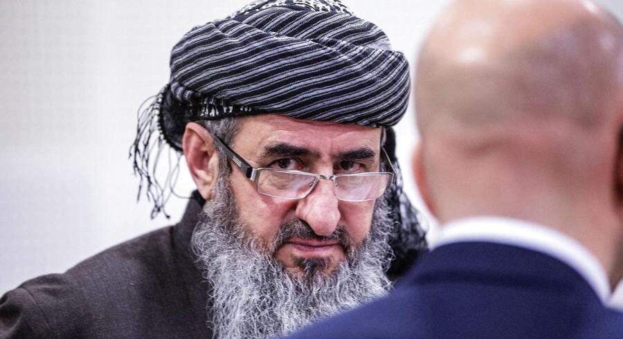 Mullah Krekar under et retsmøde tidligere på året.