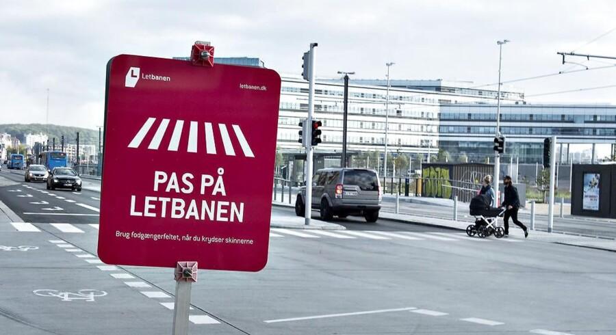 Arkivfoto: Mens Aarhus Letbane stadig venter på grønt lys fra Trafikstyrelsen til at medtage passagerer, er der nu dukket et nyt problem op.