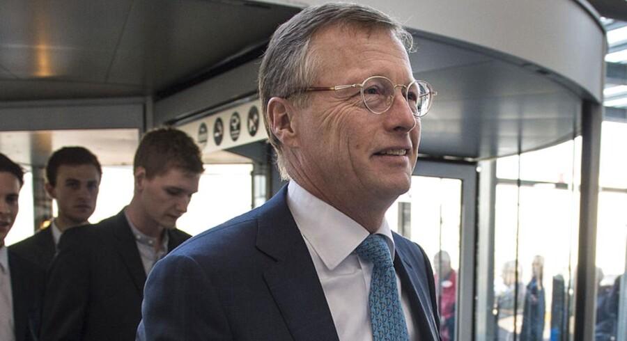 Generalforsamling i Mærsk i Bella Centret. Administrerende direktør Nils Smedegaard Andersen